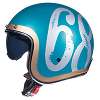 Mt Helmets Le Mans 2 Sv Hipster A0 Green