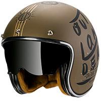 Mt Helmets Le Mans 2 Sv Outlander A0 Brown