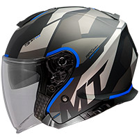 Mt Helmets Thunder 3 Sv Jet Bow A7 Helmet Blue