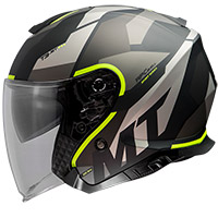 Mt Helmets Thunder 3 Sv Jet Bow A3 Helmet Yellow