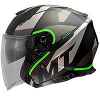 Mt Helmets Thunder 3 Sv Jet Bow A6 Helmet Green