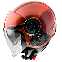 Casque Mt Helmets Viale Sv Break A1 Rojo
