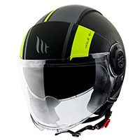 Casco Mt Helmets Viale SV Phantom C3 amarillo