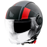 Casco Mt Helmets Viale SV Phantom C5 rojo