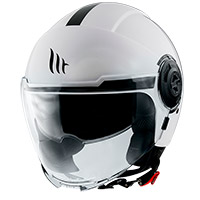 Casco Mt Helmets Viale Sv Solid A0 Bianco