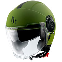 Casco Mt Helmets Viale Sv Solid A6 Verde Opaco