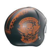 Nolan N21 Speed Junkies Asphalt-arancio Opaco