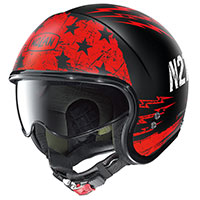 Nolan N21 Jetfire Black Red