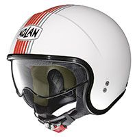 Nolan N21 Joie De Vivre Metal White Red