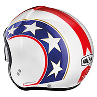 Nolan N21 Old Glory Metal White Blue Red