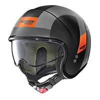 Nolan N21 Spheroid Helmet Black Orange