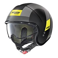 Nolan N21 Spheroid Helmet Gray Yellow