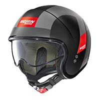 Nolan N21 Spheroid Helmet Black Red
