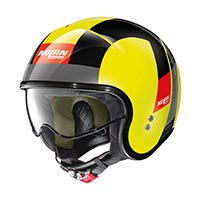 Nolan N21 Casque Spheroid Led Jaune
