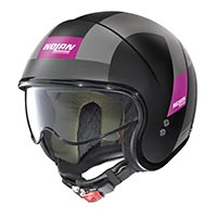 Nolan N21 Spheroid Helmet Black Purple