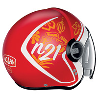 Nolan N21 Visor Playa Corsa Red Matt