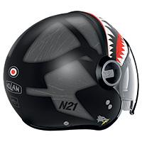 Nolan N21 Visor Skydweller Grey Black Matt