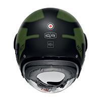 Nolan N21 Visor Skydweller Verde Nero Opaco - 3