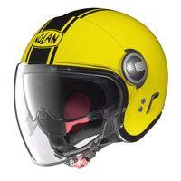 Nolan N21 Visor Duetto Giallo Led