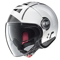 Nolan N21 Visor Avant Garde Bianco Metal