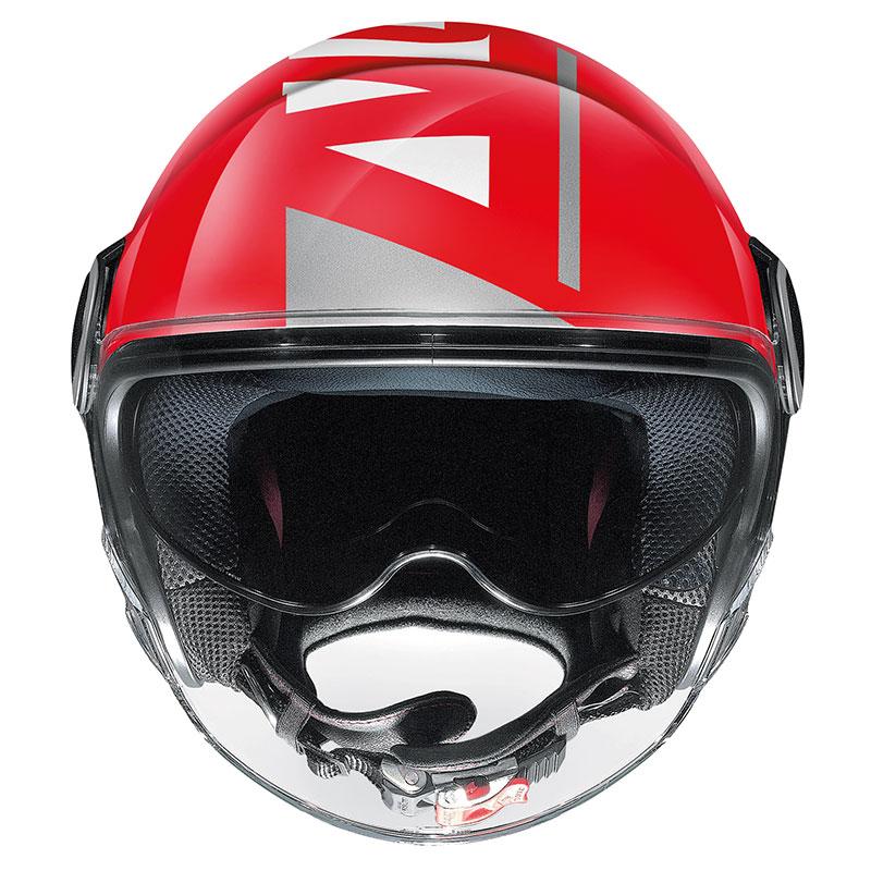 Nolan N21 Visor Avant Garde Rosso Corsa