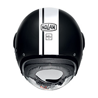 Nolan N21 Visor Dolce Vita Bianco Nero Opaco - 3
