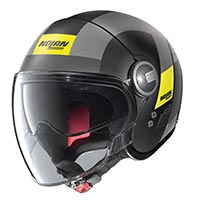 Nolan N21 Visor Spheroid Helmet Black Gray Yellow