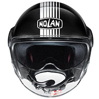 Nolan N21 Visor Joie De Vivre Nero Metal