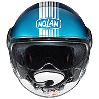 ノーラン N21 バイザー ジョイ デ ヴィヴレ フラット サファイア ブルー