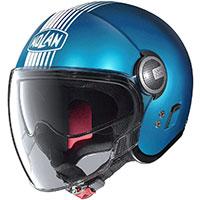 Nolan N21 Visor Joie De Vivre Sapphire Blu Opaco