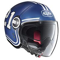 Nolan N21 Visor Quarterback Imperator Blu Opaco