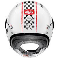 Nolan N21 Visor Getaway Red White Metal - 3