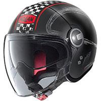 Nolan N21 Visor Getaway Red Flat Black