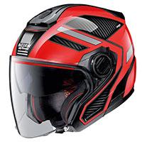 Nolan N40.5 Beltway N-Com negro rojo