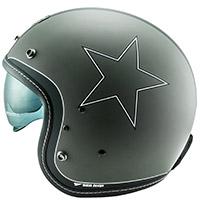 Nos Ns 1f Etoile Helmet Matt Grey