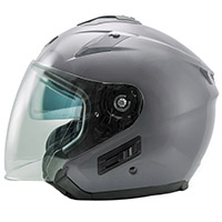 Nos Ns 2 Jet Seal Helmet Grey