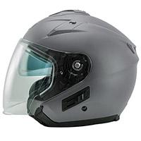 Nos Ns 2 Jet Seal Helmet Matt Grey