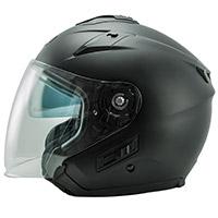 NOS NS 2 Jet Helmet negro opaco