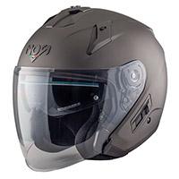 NOS NS 2 Jet Helmet titanio opaco