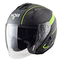 Casco Nos Ns 2 Jet Sting Giallo Opaco