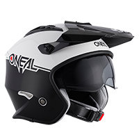 O Neal Volt Cleft Helmet White Black