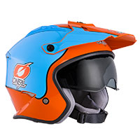 O'neal Volt Gulf Helmet Orange Blue
