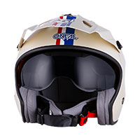 O'neal Volt Herbie Helmet White Red Blue