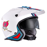 O'neal Volt Mn1 Helmet White Red Blue