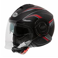 Premier Cool Px9 Bm Helmet Black Red