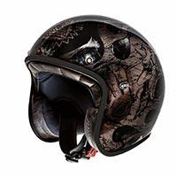 Premier Le Petit Classic Bd Black Chromed Helmet