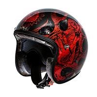 Premier Le Petit Classic Bd Red Chromed Helmet