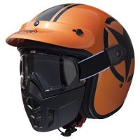 Premier Mask Star Metallic Arancio