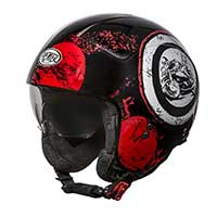 Premier Rocker Sd 92 Helmet Black Red