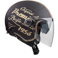 Premier Rocker Visor Or 19 Bm Helmet Gold
